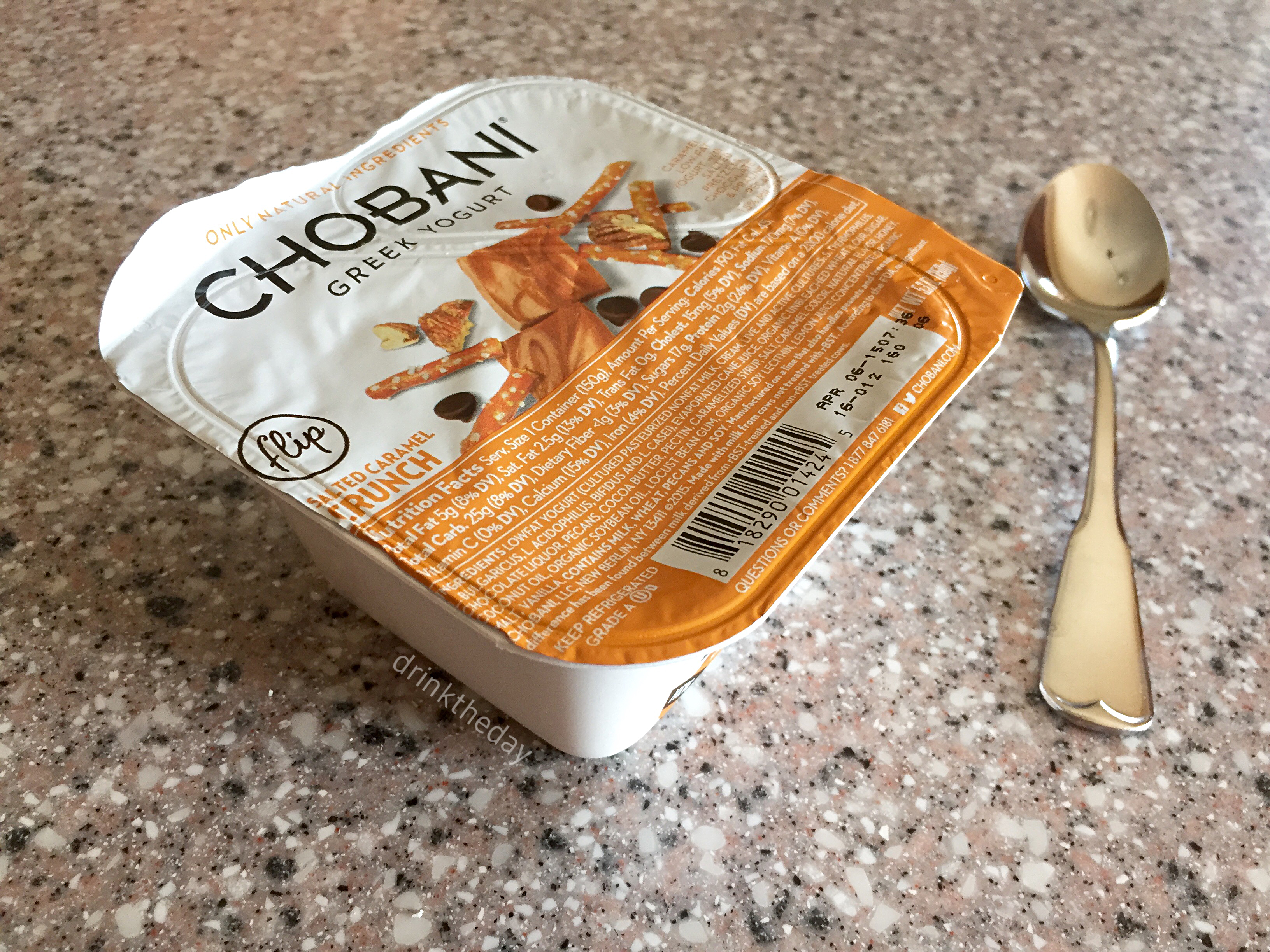 Friday Favorites - Fitness Edition // Chobani Greek Yogurt, Salted Caramel Crunch