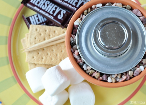 DIY Tabletop S'mores Pots