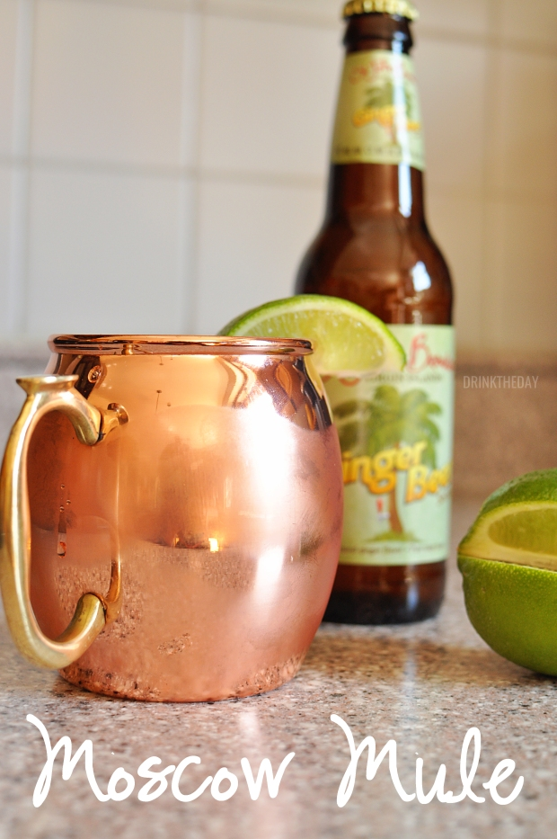 Moscow Mule Drink Recipe