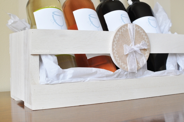 DIY - Housewarming Wine Collection