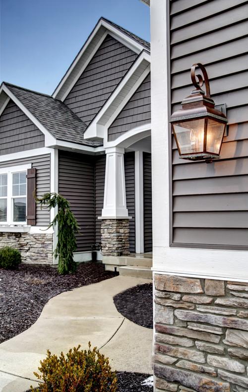 Gray home exterior