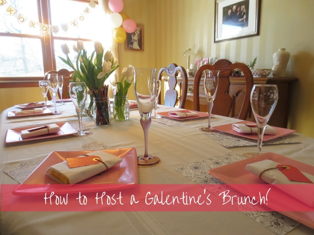 How to Host a Galentine's Brunch! | Drink the Day