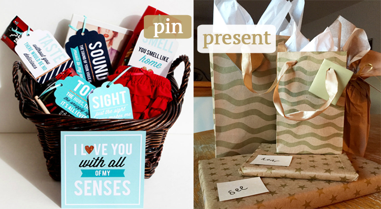 Pin to Present | DIY 5 Senses Gift idea